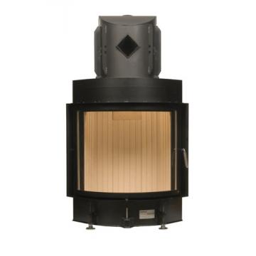 Fireplace Brunner 57/67 Kompakt-Kamin панорама