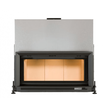 Fireplace Brunner-38-86-Architektur-Kamin-гильотина