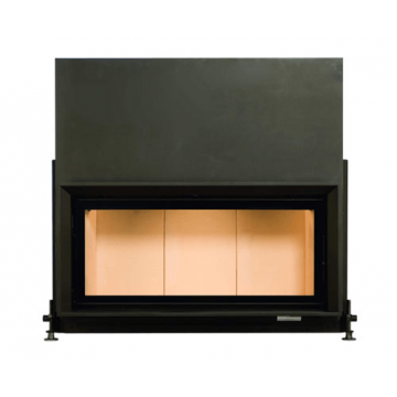 Fireplace Brunner-45-101-Architektur-Kamin-гильотина