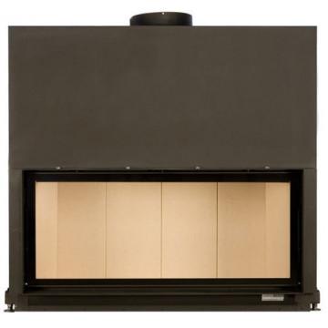 Fireplace Brunner 53/121 Architektur-Kamin гильотина