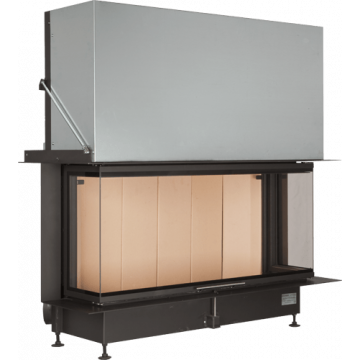 Fireplace Brunner Panorama 51/25/101/25 трёхсторонняя