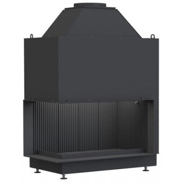 Fireplace Urfeuer® Klassik 50/88/44 L Открытая угловая топка Brunner
