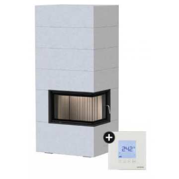 Fireplace Brunner BSG 02 right с водяным контуром + EAS
