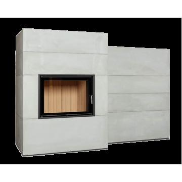 Fireplace Brunner BSG с дополнительной аккумуляцией сбоку