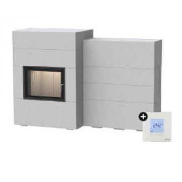 Fireplace Brunner BSG с дополнительной аккумуляцией сбоку + EAS
