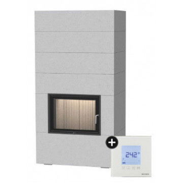 Fireplace Brunner BSG с дополнительной аккумуляцией сверху + EAS