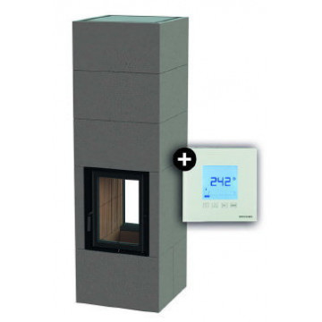 Fireplace Kit System BSO 02 Tunnel + EAS