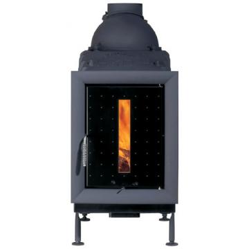 Печь Brunner-HKD-5-1-cast-iron-frame-control-window-black