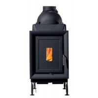 Печь Киев Харьков Brunner HKD 4.1 cast iron frame/cast iron door/black