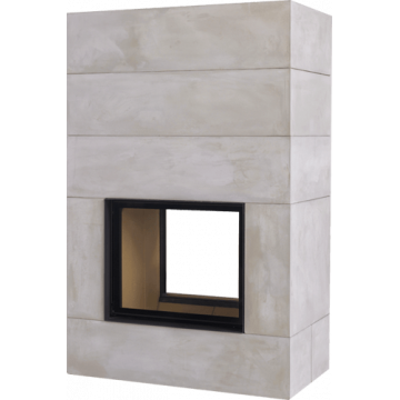 Fireplace Brunner BSK 04 Style Tunnel 62/76 lifting door
