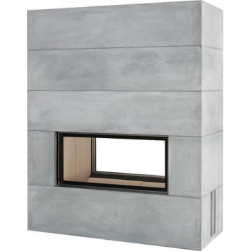 Fireplace Brunner BSK 06 Architecture Tunnel 45/101 lifting door