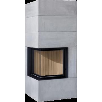 Fireplace Brunner BSK 08 Compact 51/67 side-opening door