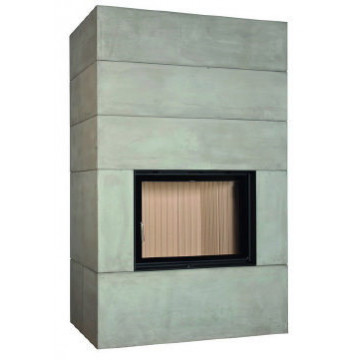 Fireplace Brunner BSK 08 Style 51/67 side-opening door
