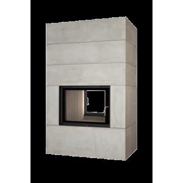 Fireplace Brunner BSK 08 Style Tunnel 51/67 side-opening door
