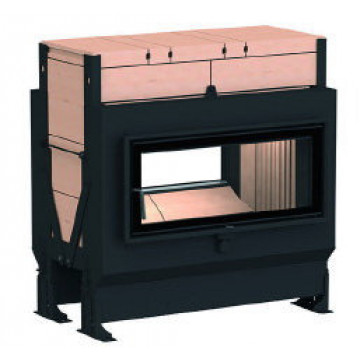 Stove Brunner GOT 38/86-ZL lifting/side-opening door + GOF Tunnel 86 x 36 cm