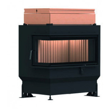 Stove Brunner GOT 38/86/36 ZL left side-opening door + GOF 64 x 35 cm