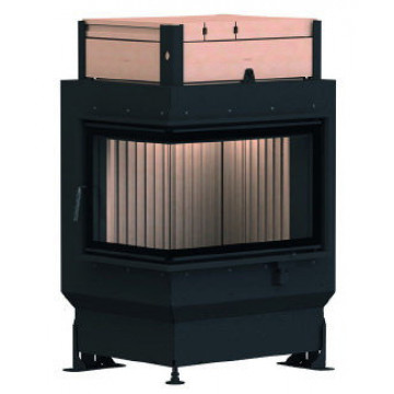 Stove Brunner GOT 45/67/44 ZL left side-opening door + GOF 50 x 35 cm