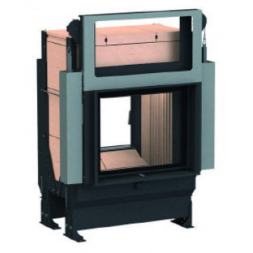 Stove Brunner GOT 57/67-ZL lifting/side-opening door + GOF Tunnel 66 x 36 cm