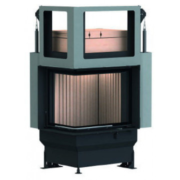 Stove Brunner GOT 57/67/44 ZL left lifting door + GOF 50 x 35 cm