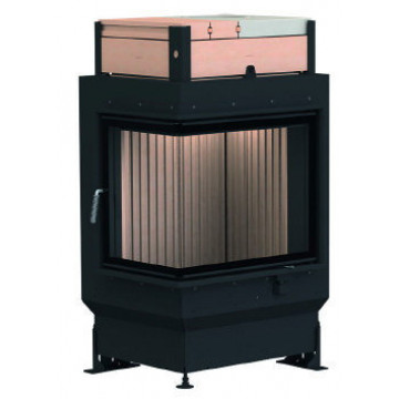 Stove Brunner GOT 57/67/44 ZL left side-opening door + GOF 50 x 35 cm