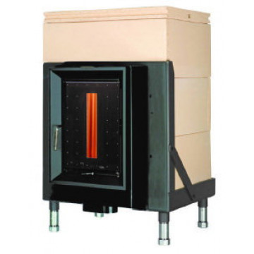 Stove Brunner HKD 5.1/20 doors with control window GOF 57 x 37 cm