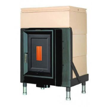 Stove Brunner HKD 5.1/20 cast iron doors GOF 57 x 37 cm