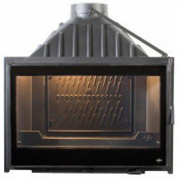 Fireplace Seguin-Visio-8-BLACK-LINE-с-дв-системой-подачи-воздуха-F1800-DC18-