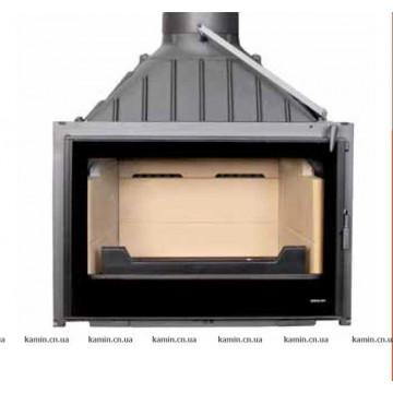 Fireplace Seguin Visio 7 PLUS (шамотные плиты, приток воздуха в топку)