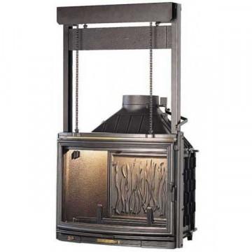 Fireplace Seguin Pano 7 с подъемной дверцей