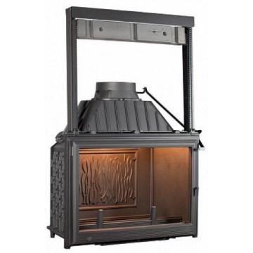 Fireplace Seguin Super 9 с подъемной дверцей