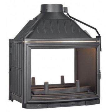 Fireplace Seguin-Panoramic-с-2-фасадами-оба-стекла-изогнуты-F0905-