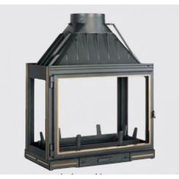 Fireplace Seguin Multivision 8000 четырехсторонняя