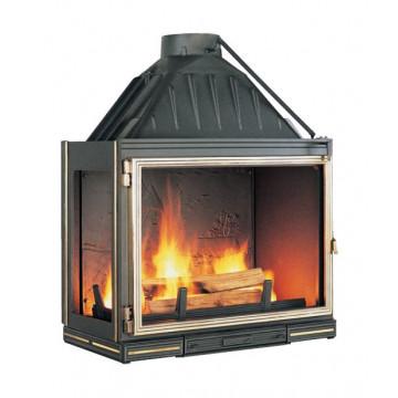 Fireplace Seguin Multivision 8000 с боковым стеклом