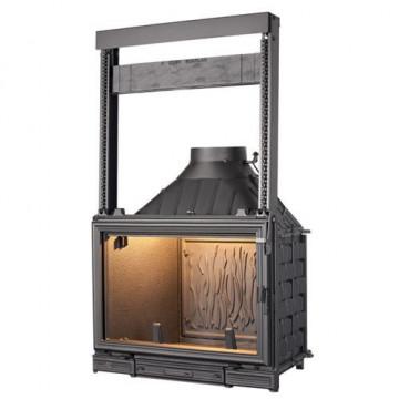 Fireplace Seguin Sunflam с подъемной дверцей