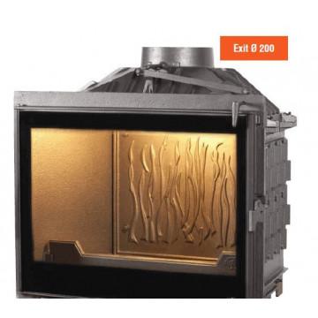 Fireplace Seguin-Celsius-Black-Line