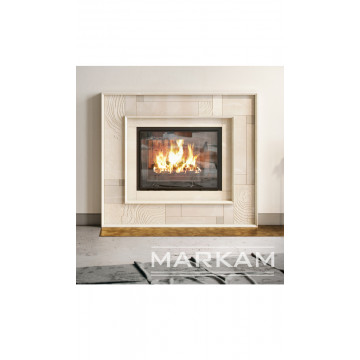Facing Markam fireplaces Quiet