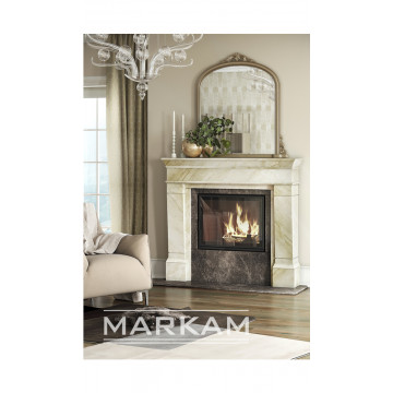 Fireplace facing Markam-Ирон
