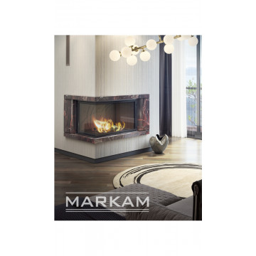 Fireplace facing Markam-Роса-угловой