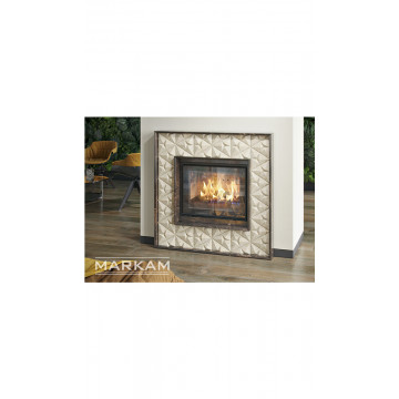 Fireplace facing Markam Crystal
