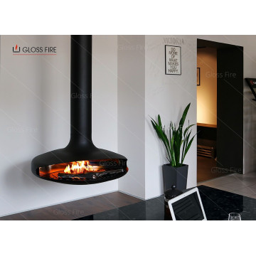 Suspended bio-fireplace Art. 001 TM Gloss Fire