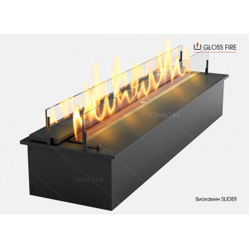 Bio Fireplace Gloss Fire Slider
