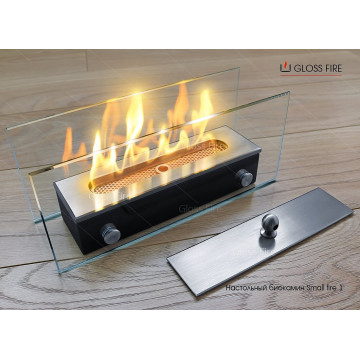 Desktop biofireplace Small fire 1