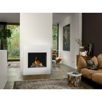Gas fireplace built in Bellfires Derby Large 3
