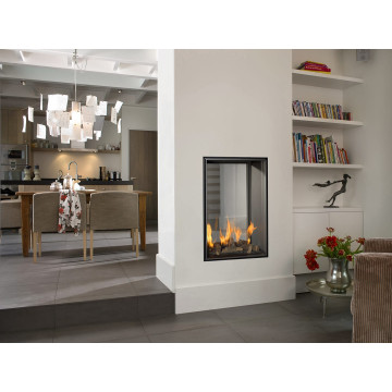 Buy gas fireplace in Kharkiv Vertical Ball Small Tunnel 80/53 Ukraine