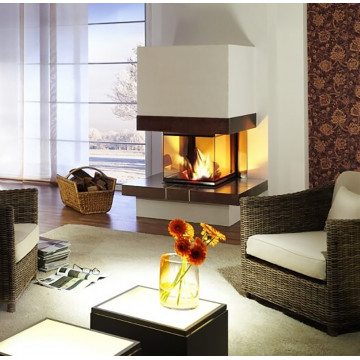 Fireplace Brunner Panorama 57/40/60/40 трёхсторонняя