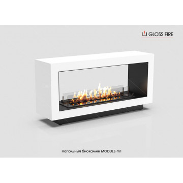 Floor biofireplace Gloss Fire Module m1-m9