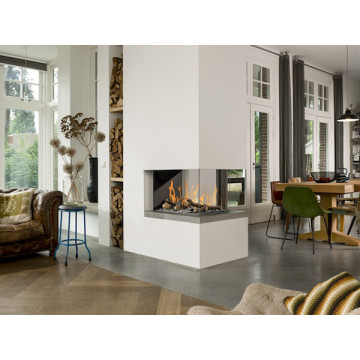 Gas fireplaces Bellfires Room Divider Medium