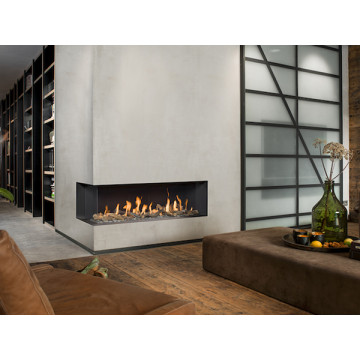 Gas fireplaces Bellfires Corner Bell XL