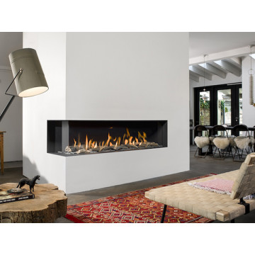 Gas fireplaces Bellfires Corner Bell XXL