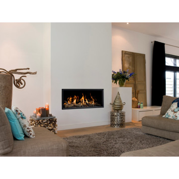 Gas fireplaces Bellfires Horizon Bell Small